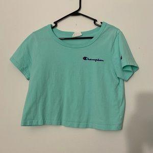 Cropped champion T-shirt